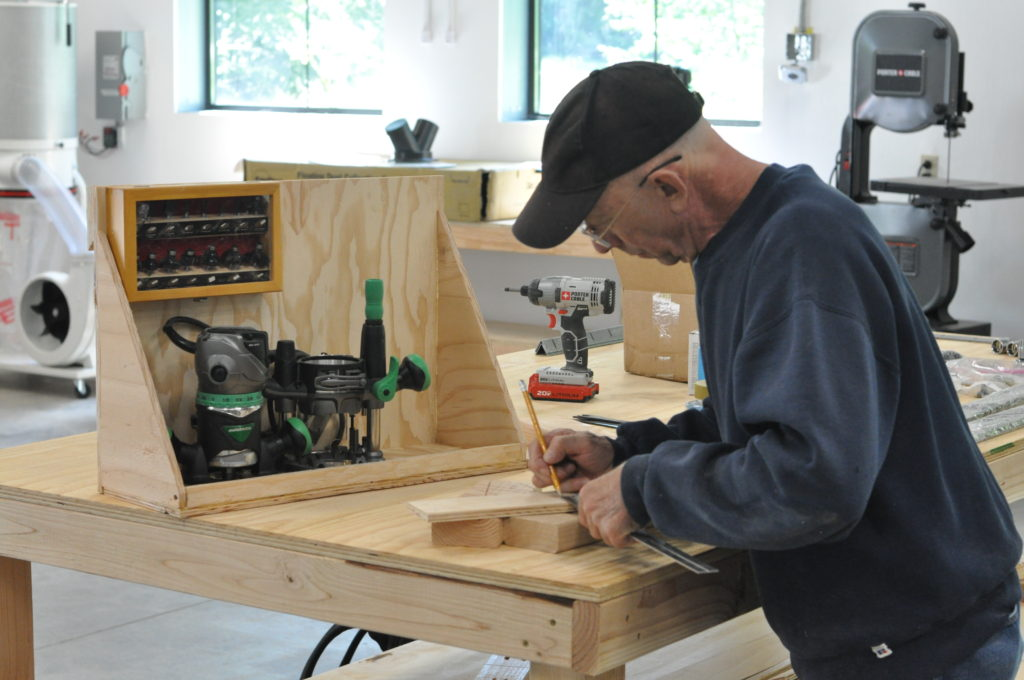 one of our makers