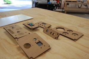 project pieces assembled